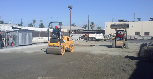 Commercial Concrete Slope Correction