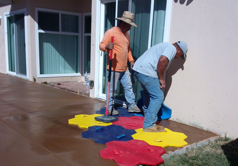 Decorative Concrete Patio Fullerton, CA
