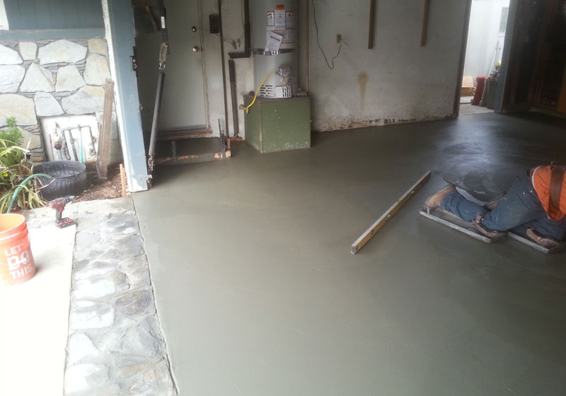 Concrete Garage Floor Repair Orange County