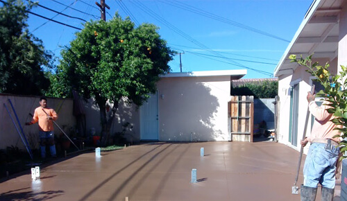 OC Concrete Patio Contractor